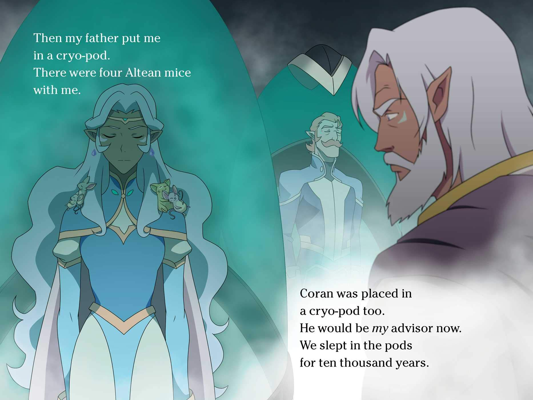 Amazon com: Allura's Story (Voltron Legendary Defender