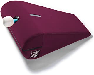 product image for Liberator Axis Hitachi Sex Positioning Pillow/Magic Wand Mount, Velvish Merlot