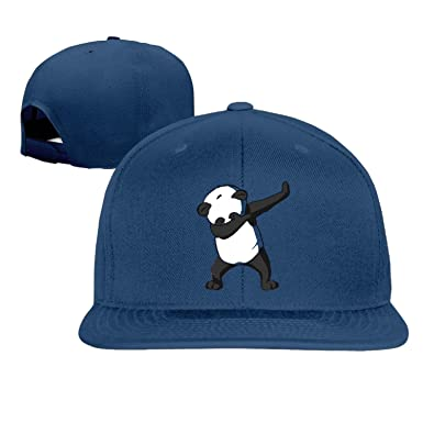 panda bear baseball cap cool unisex dab blue giants hat kung fu