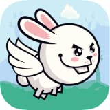 Bunny Fly : Eat The Carrots