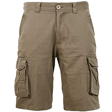 80f98175 Coevals Club Men's Casual Cargo Shorts Cotton Twill Multi Pockets Outdoor  Pants (#2 Khaki