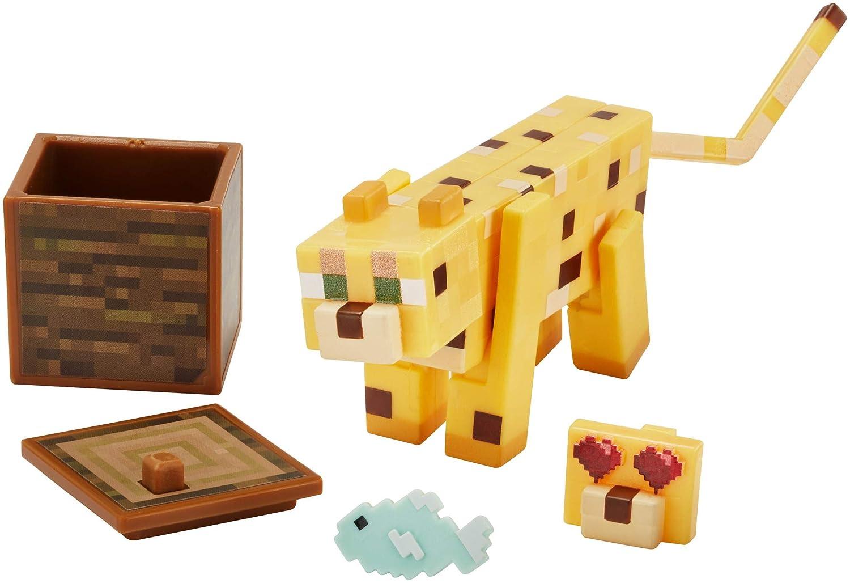 Amazon.com: Minecraft - Figura de acción de Ocelot: Toys & Games