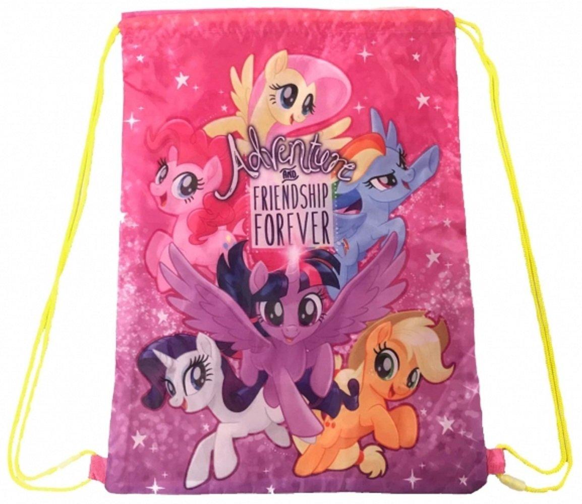 My Little Pony Kids Swimming Bag Drawstring Cartoon School Shoe PE Girls