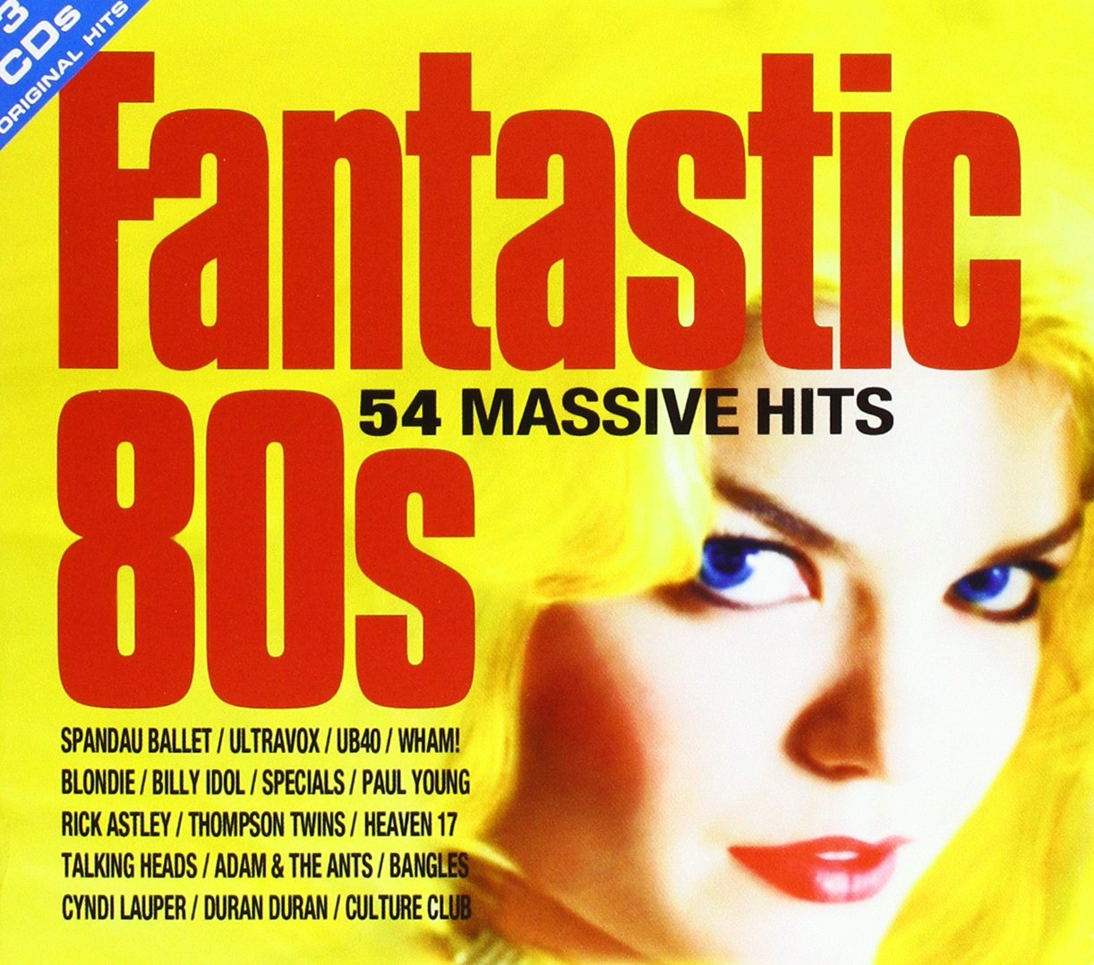 CD Album VA - FANTASTIC 80s-54 MASSIVE HITS (3CD SET) NEW ...