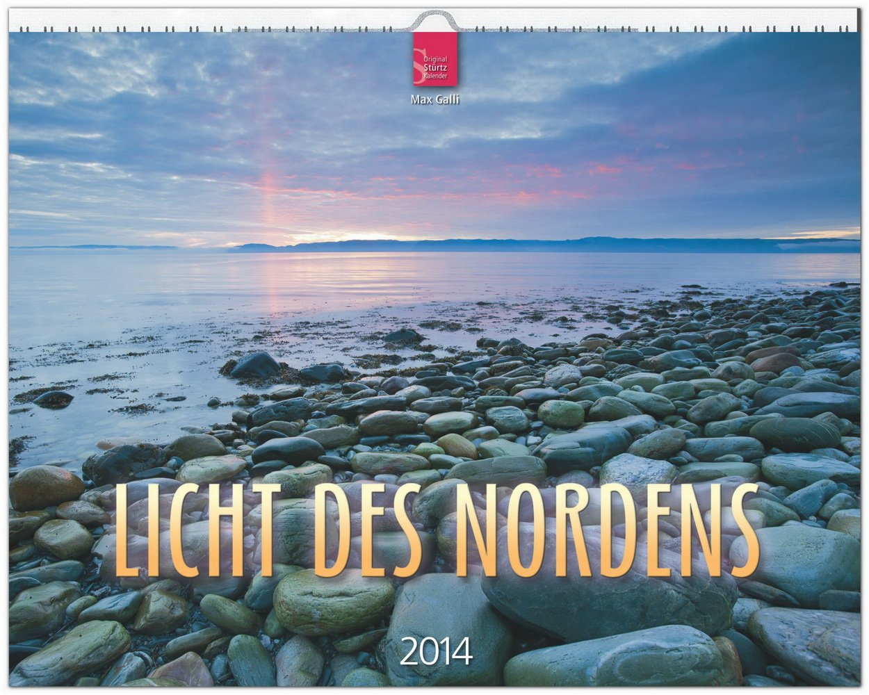 Licht des Nordens 2014: Original Stürtz-Kalender - Großformat-Kalender 60 x 48 cm [Spiralbindung]