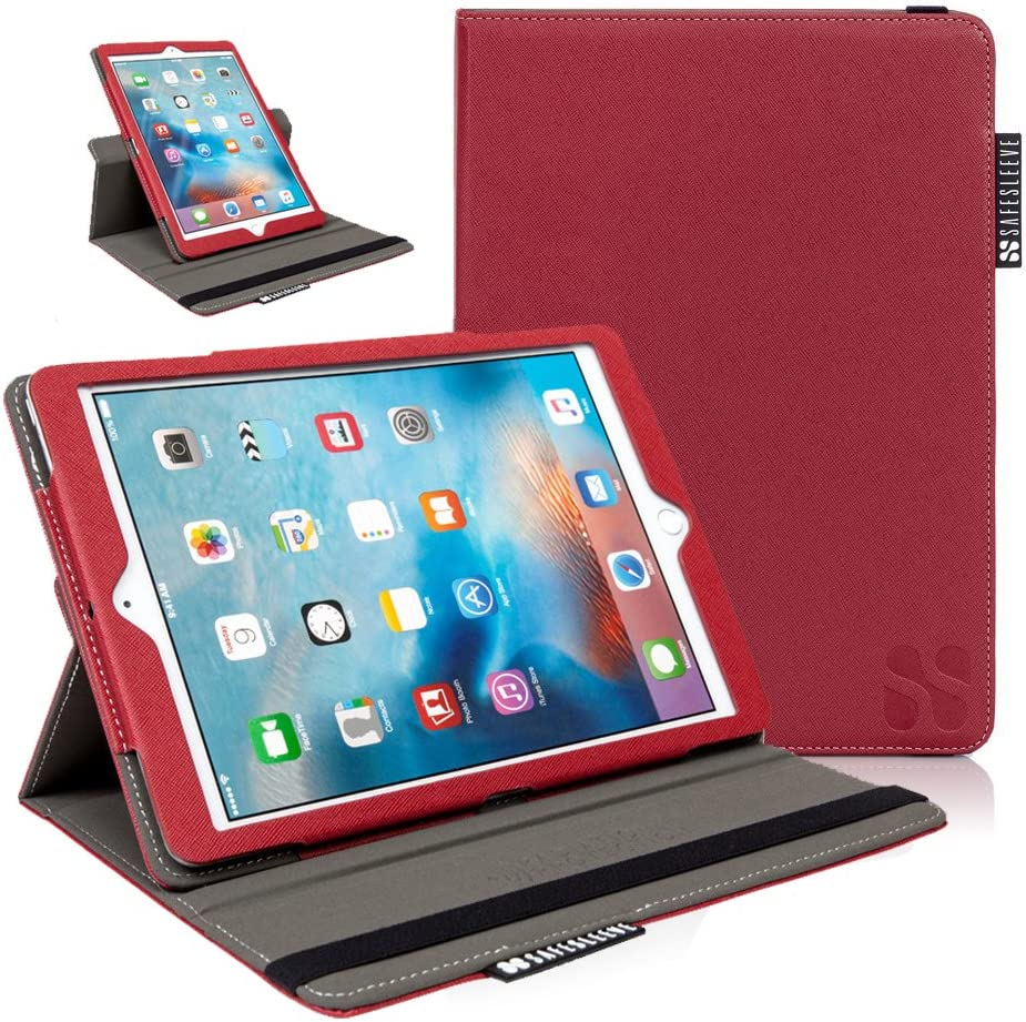 iPad EMF Radiation Blocking Case - SafeSleeve Tablet Case for iPad 5th Gen, iPad Air, iPad Air 2 and iPad Pro 9.7 - Red