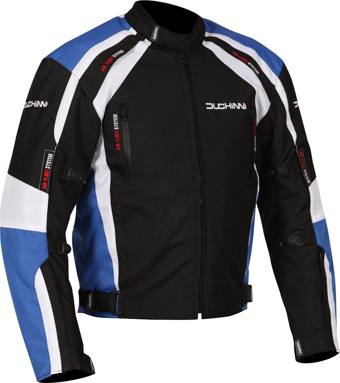 Fowlers DJMISAN842X Blue, XX-Large DUCHINNI Misano All Season Motorcycle Jacket