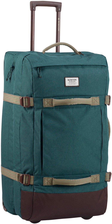 Burton Exodus Roller Travel Bag Jasper Hthr Cordura NA by Burton (Image #1)