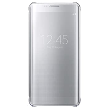 44ce53e757c Samsung BT-EFZG928CSEGWW - Funda para Samsung Galaxy S6 Edge +, color  plata- Versión Extranjera: Amazon.es: Electrónica