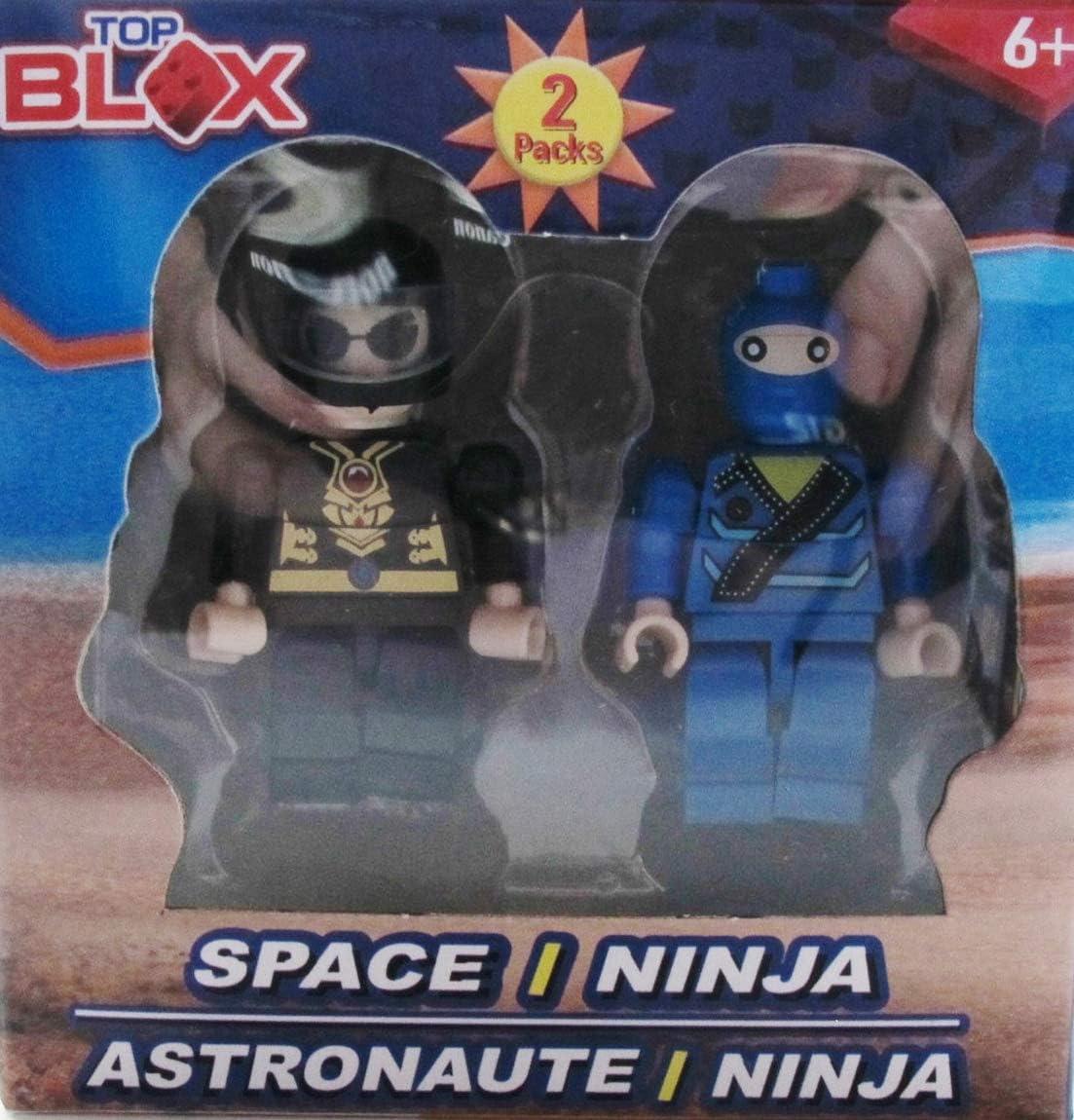 Amazon.com: Top Blox - 2 pc People Set Astronaut / Ninja ...