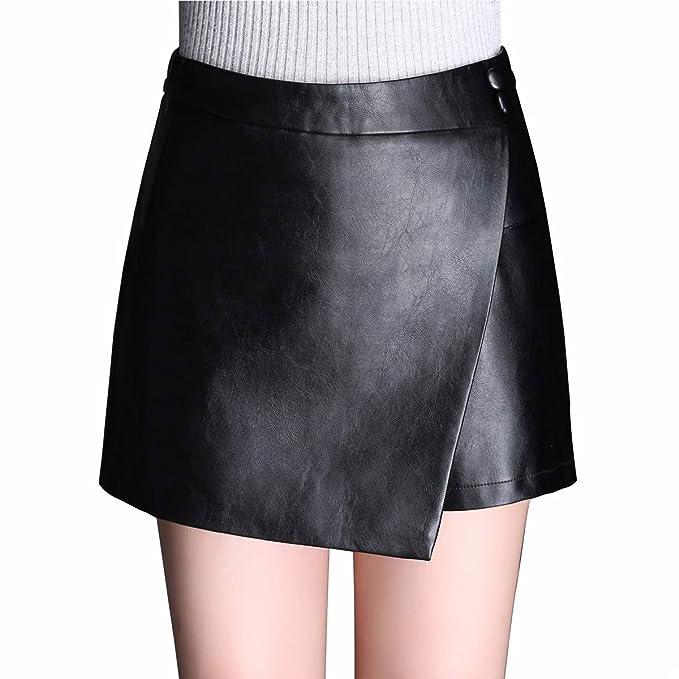 Skitor Lápiz Chulas Falda Lápiz Mujer Elegante Falda-pantalón Slim ...