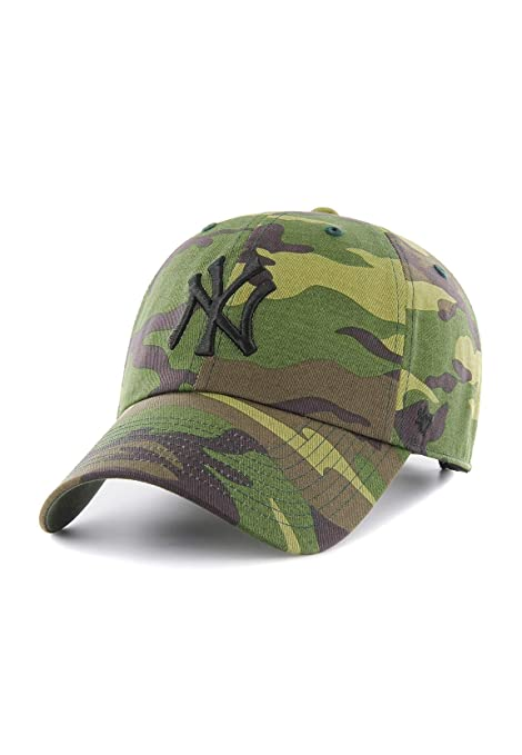 Image Unavailable. Image not available for. Color  New York Yankees 47  Brand Unwashed Camo Clean Up Slouch Fit Hat 87c29a70534