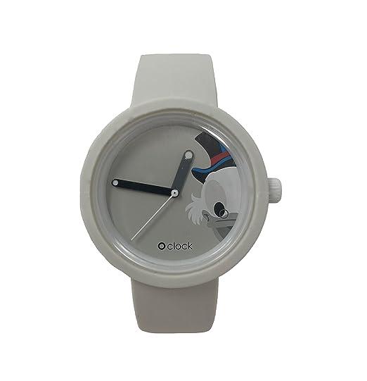 O clock correa blanco + Mecanismo Disney PaperONE XS Bianco: Amazon.es: Relojes