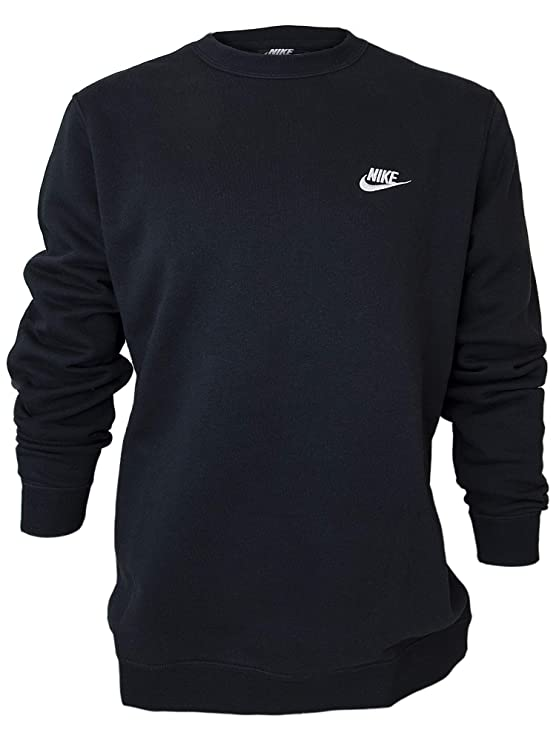 Classic Fleece Sweatshirt Black best men's sweatshirt