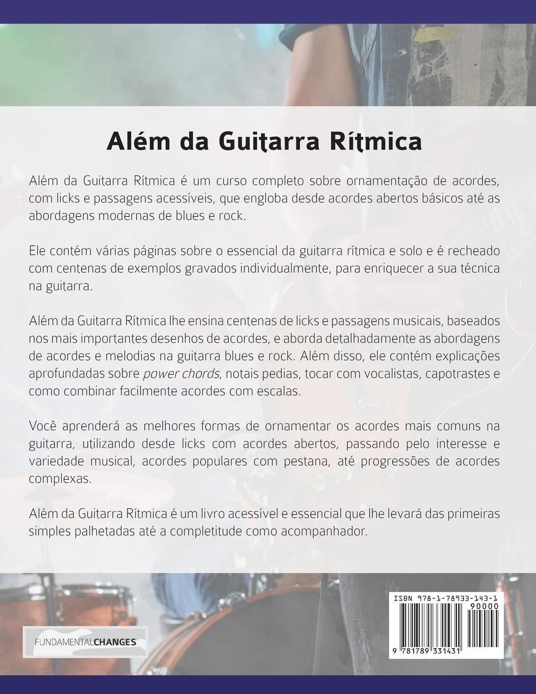 Além da Guitarra Rítmica – Licks & Riffs: Construa Riffs, Licks ...