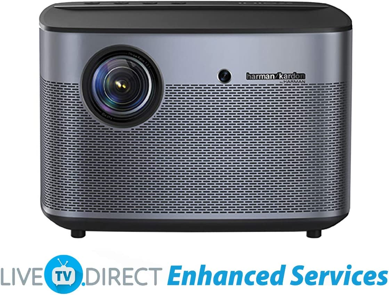 B01NCMQISB LiveTV.Direct Enhanced XGIMI H2 Home Video Movie 4K Projector Native 1080p HD Android 3D Smart TV Projector Built-in Harman/Kardon Hi-Fi Stereo Speaker 71o-wQGJd4L.SL1200_