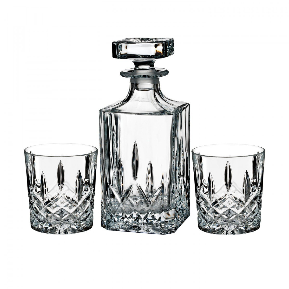 Amazon marquis by waterford markham 11 ounce double old amazon marquis by waterford markham 11 ounce double old fashioned glasses pair and square decanter set unleaded crystal home kitchen reviewsmspy