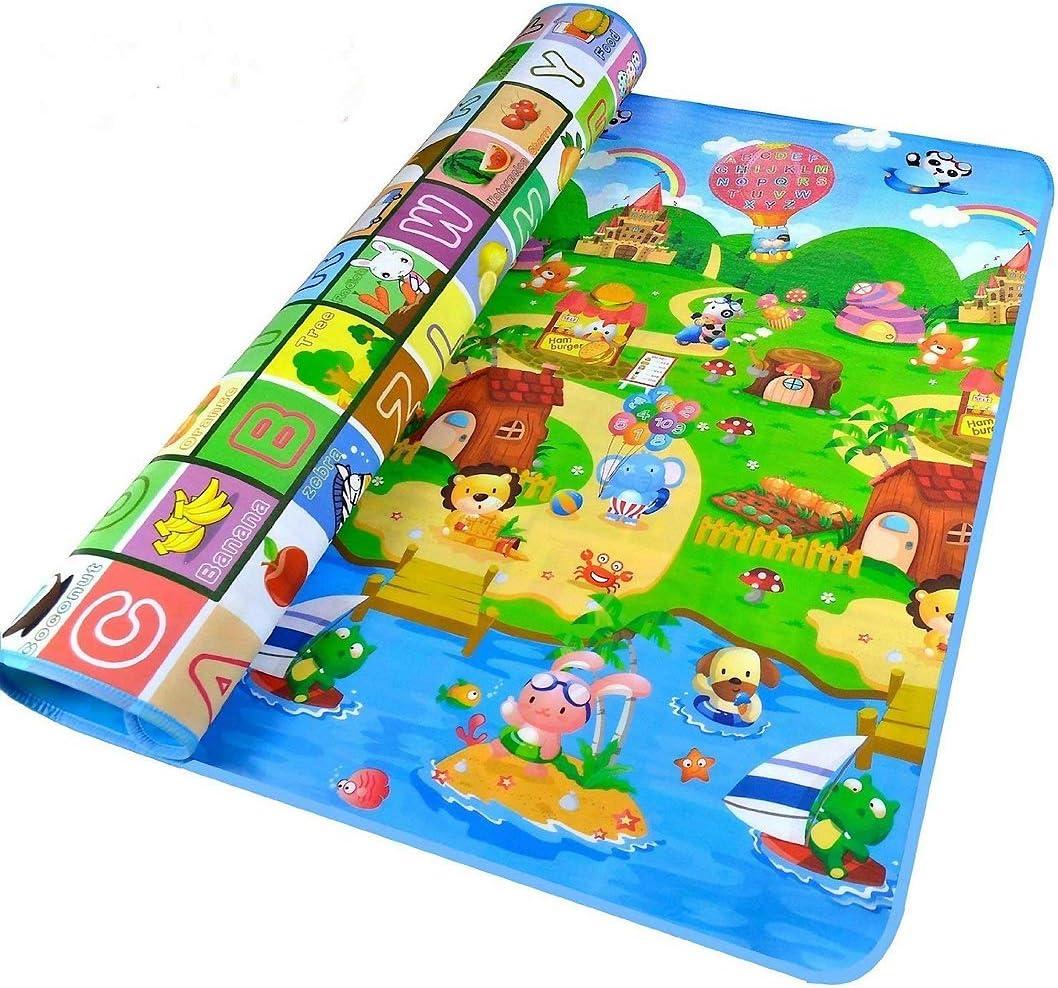 StillCool Bebé Crawl Mat Niños Playmat Niño Que Juega Alfombra Picnic Blanke (180 * 120CM)