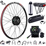 BAFANG 48V 500W Front Hub Motor Electric Bike Conversion Kit for 20 26 27.5 700c inch Wheel Drive Engine with LCD Display wit