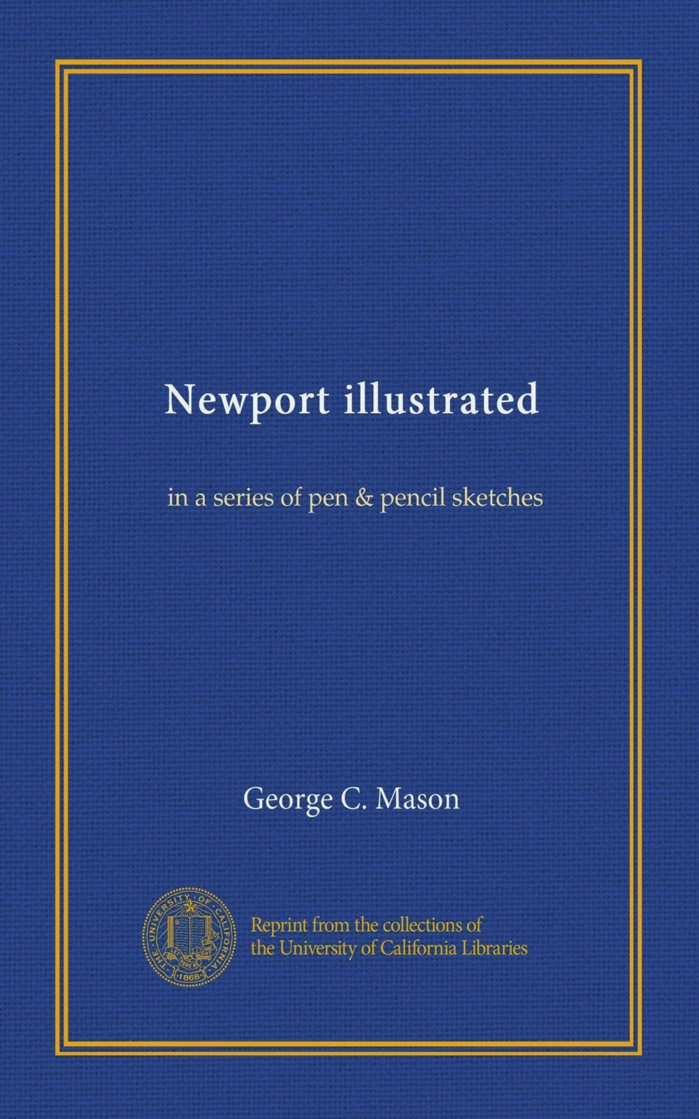 Download Newport illustrated: in a series of pen & pencil sketches ebook