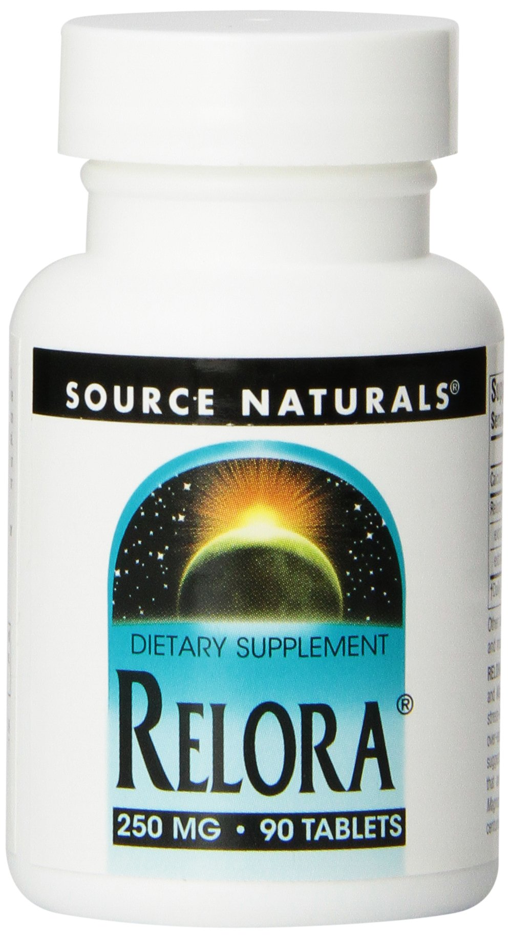 SOURCE NATURALS Relora 250 Mg Tablet, 90 Count