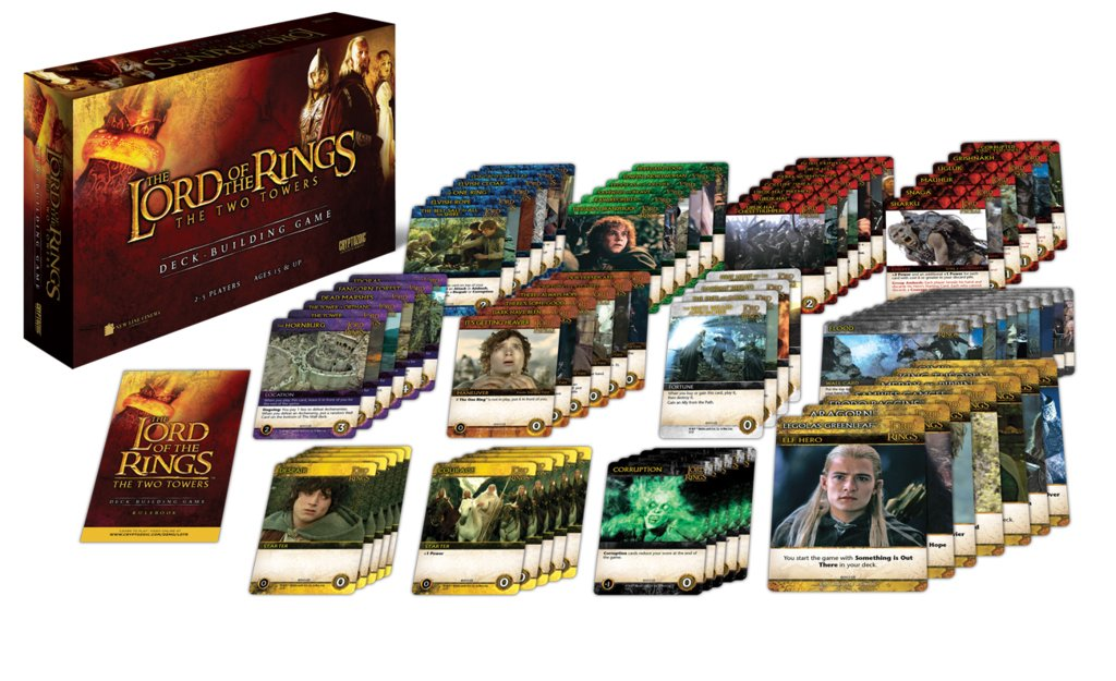 Cryptozoic Entertainment Lord of the Rings: Two Towers Deck-Building Game