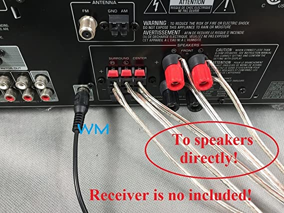 Amazon.com: 6FT Simplified Subwoofer-Receiver Link Cable for Select Bose  Acoustimass 6 10 15 16 Subwoofer only; No Speaker Connection! Please Read  warnings!: Home Audio & TheaterAmazon.com