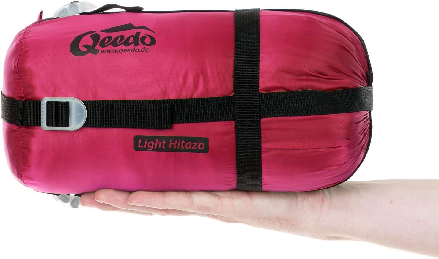 Qeedo Light Hitazo Saco de Dormir Ligero Momia 670 g Peso