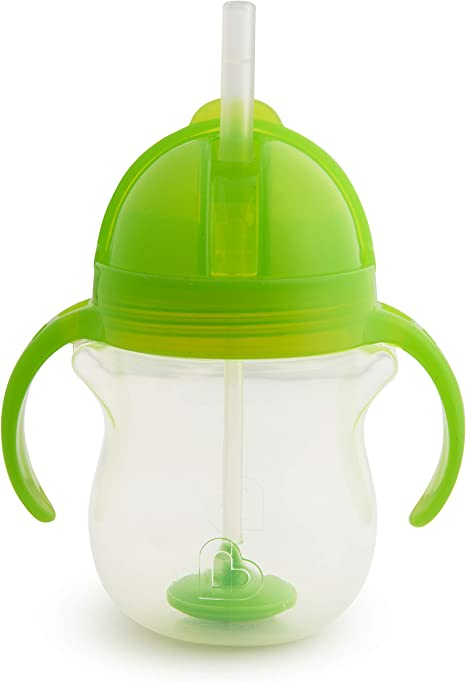 Munchkin Click Lock Tip and Sip Weighted Flexi Straw Trainer Cup