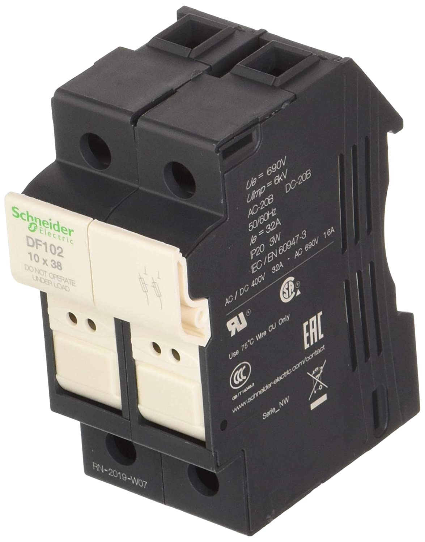 Schneider Electric DF102 Tesys Seccionador Portafusible 2P 32A ...