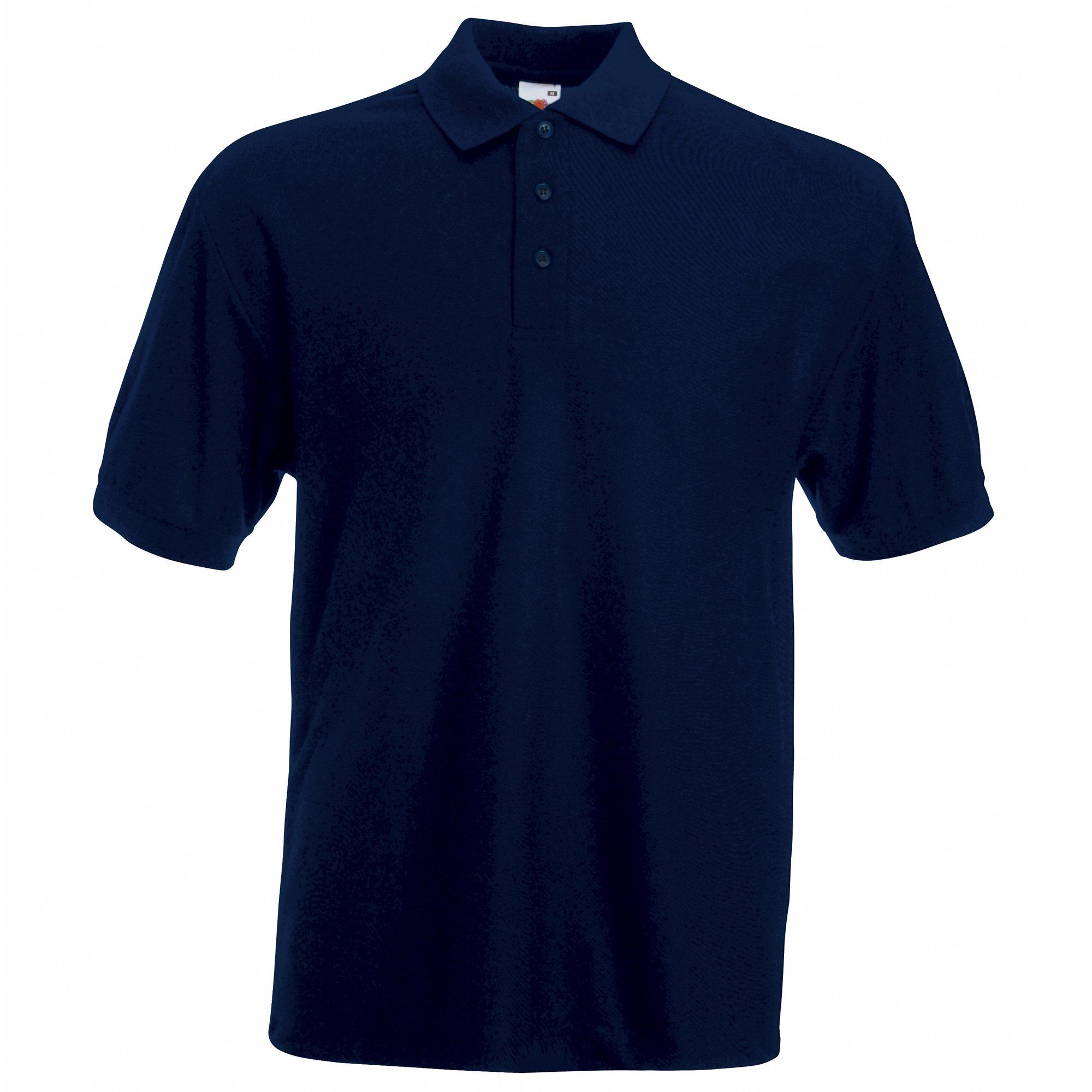 Camiseta tipo polo de manga corta para hombre Fruit of the Loom ...
