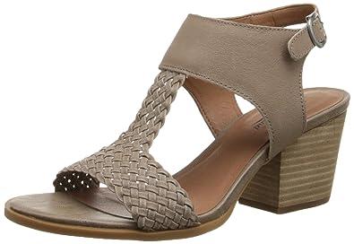 Lucky Womens Maari Dress Sandal Grout Size 65
