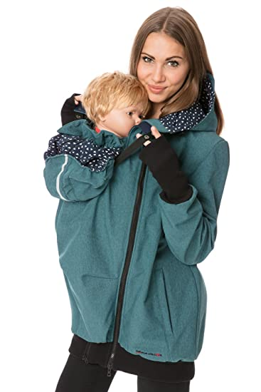 6607685f2200c GoFuture® 4in1 Shell jacket Babycarrying Babywearing jacket Maternity  pregnancy multifunction Belly to baby handmade with love by GoFuture:  Amazon.co.uk: ...