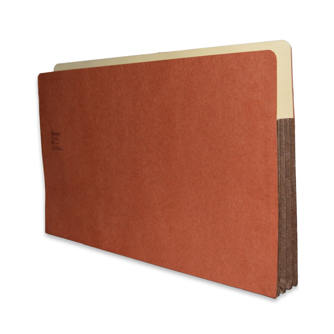 Redweld File Pocket, Top Tab, Legal Size with 3 1/2'' Fully Reinforced Tyvek Gusset, 50 per Carton