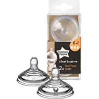 Tommee Tippee Closer to Nature Fast Flow Teats x 2
