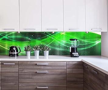 wandmotiv24 Küchenrückwand Neonlicht Nischenrückwand Spritzschutz ...