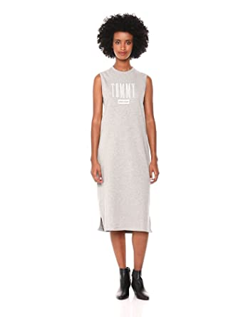03f6df1e Tommy Hilfiger Women's T Shirt Dress with Logo at Amazon Women's ...