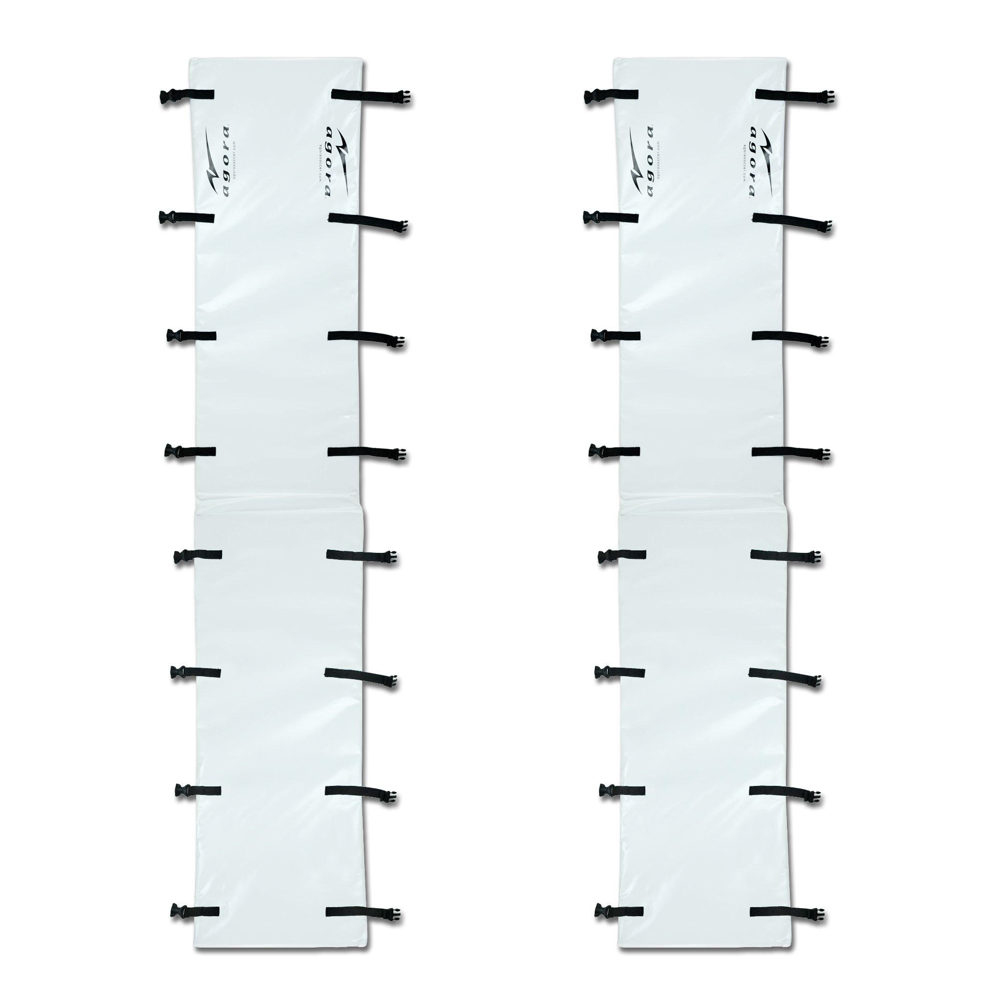 Agora Goal Post Pads - Set of 2