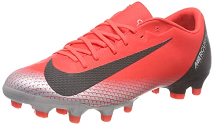 08a4c0858 Amazon.com  Nike Vapor 12 Academy CR7 FG MG Soccer Cleats  Sports ...