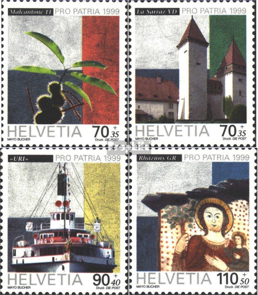 Sellos para los coleccionistas Completa.edición. Prophila Collection Suiza 1681-1684 1999 Pro Patria