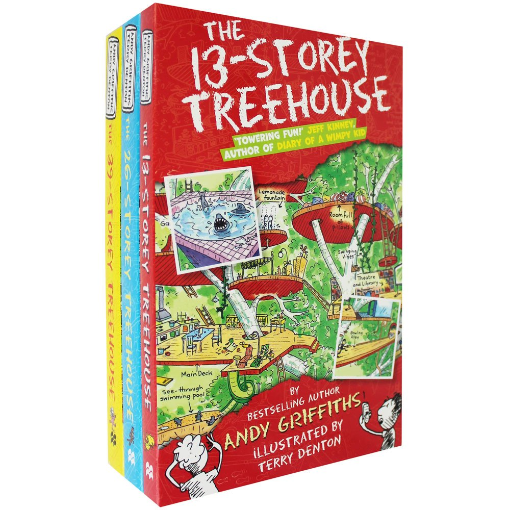 The 13th Storey Treehouse Part - 30: Andy Griffiths The 13-Storey Treehouse Collection Set Pack, (The 13-Storey  Treehouse, The 26-Storey Treehouse And The 39-Storey Treehouse): Andy  Griffiths: ...