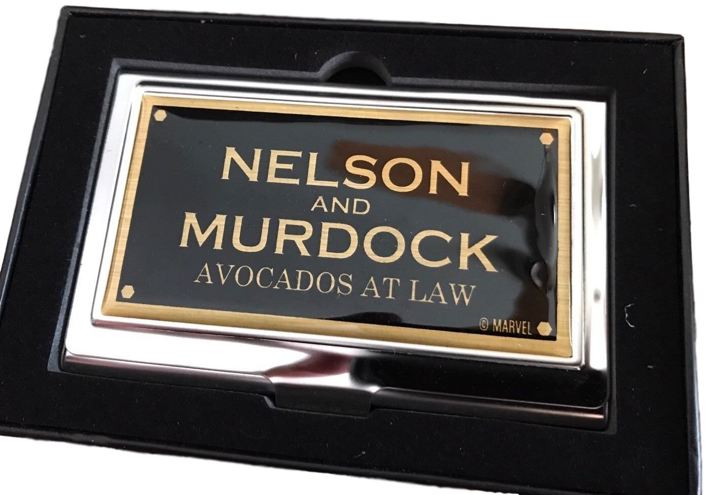 Marvel's Daredevil Business Card Holder - Nelson and Murdock - Loot Crate Exclusive Buckle Down