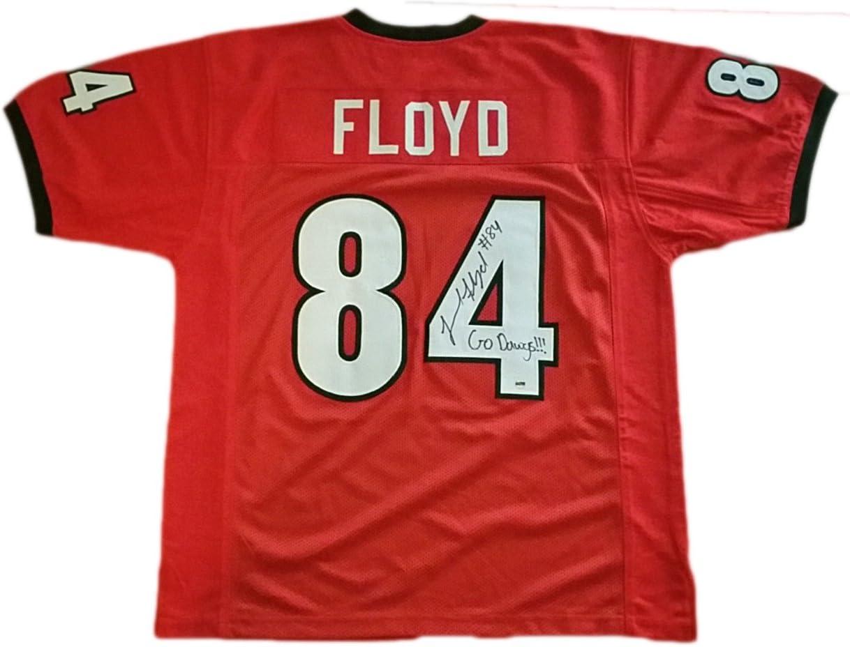 Leonard Floyd Georgia Bulldogs Autographed Custom Jersey w COA at ...