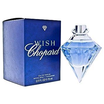 Amazoncom Chopard Wish For Women Eau De Parfum Spray 25 Oz