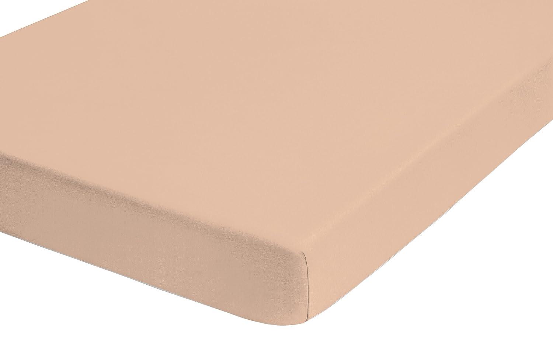 Biberna 77866/557/322 - Sábana bajera ajustable elástica, jersey 97% algodón y 3% elastano, ultrasuave e extensible, para una cama de 180x200 cm, ...