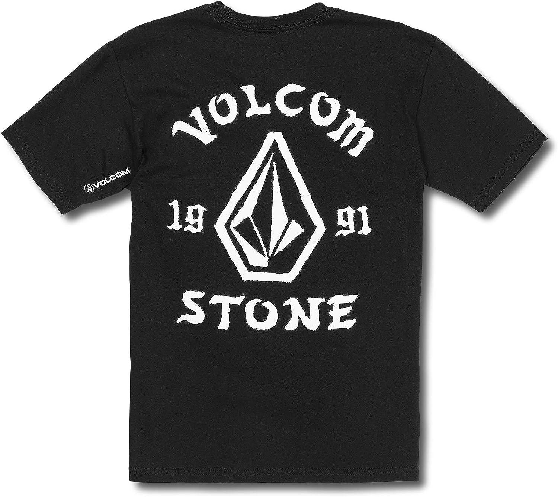 Volcom Boys Big Outline Basic Fit Short Sleeve Tee