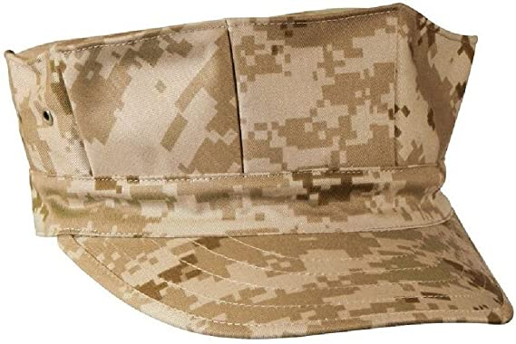 8a2da694 Amazon.com: Desert Digital Camouflage Military Style Usmc Marines 8 Point  Fatigue Hat: Clothing