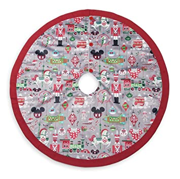 Amazon.com : Disney Parks Santa Mickey Mouse and Friends Holiday Christmas  Tree Skirt : Everything Else - Amazon.com : Disney Parks Santa Mickey Mouse And Friends Holiday