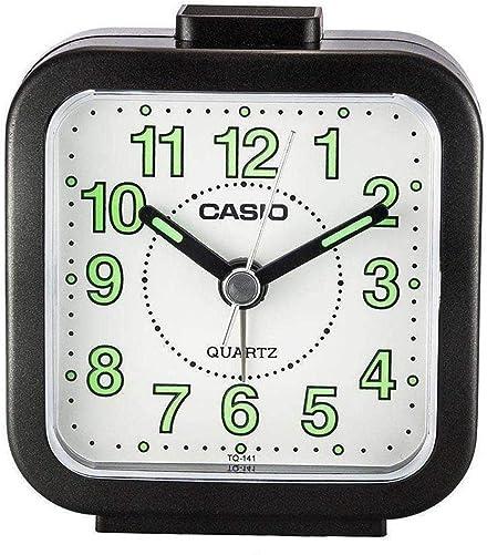 Casio TQ141-1D Travel Table Top Beep Alarm Clock