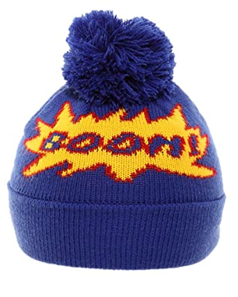 c3eeffcf3b9 Boys Childrens Winter Hat Kids Fun Novelty Beanie Warm Comfy Comic   Amazon.co.uk  Clothing